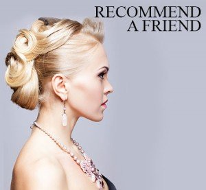 recommend a friend Basingstoke hair salon