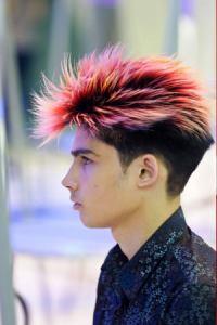 pastel hair colours for men