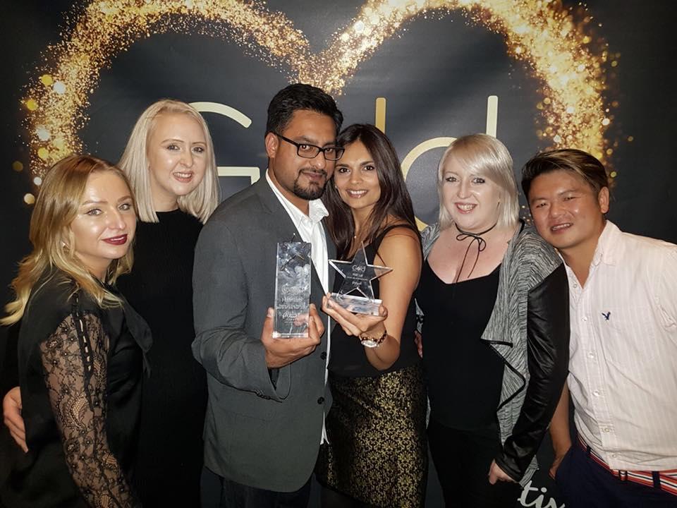 hair lab hair salon award winners