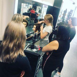 plaits and braids at hair lab hair salon in Basingstoke
