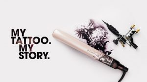 The ghd Ink on Pink Collection at hair lab hair salon in basingstoke