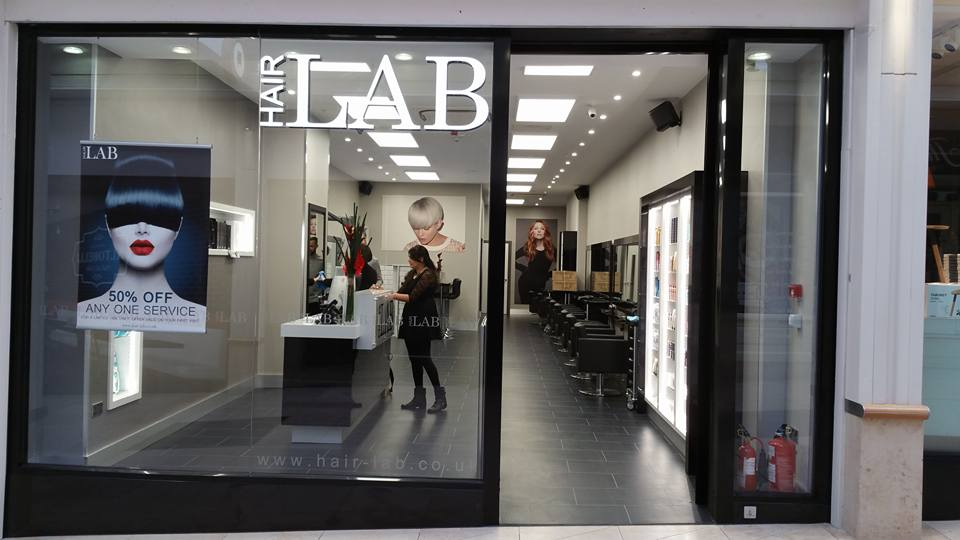 Hair Lab salon exterior Basingstoke