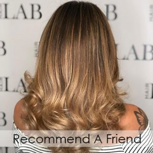 Recommend A Friend hair salon in basingstoke