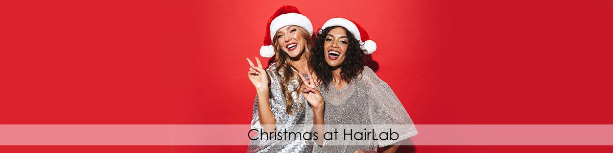 Christmas at HairLab hair salon in basingstoke