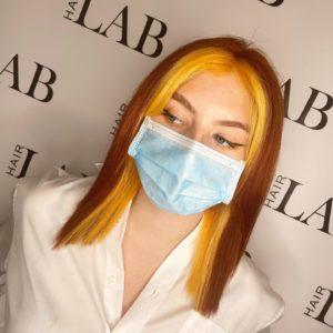 Face Frame Highlights At Hair Lab Hair Salon in Basingstoke