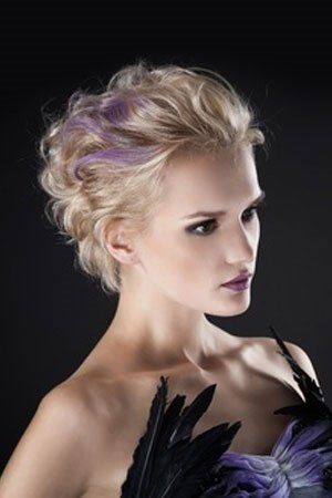 shorter prom hairstyles